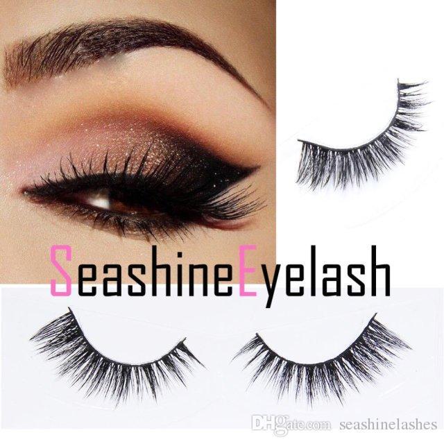 Seashine Natural Makeup 3d Mink Lashes Eyelash Extension Handmade