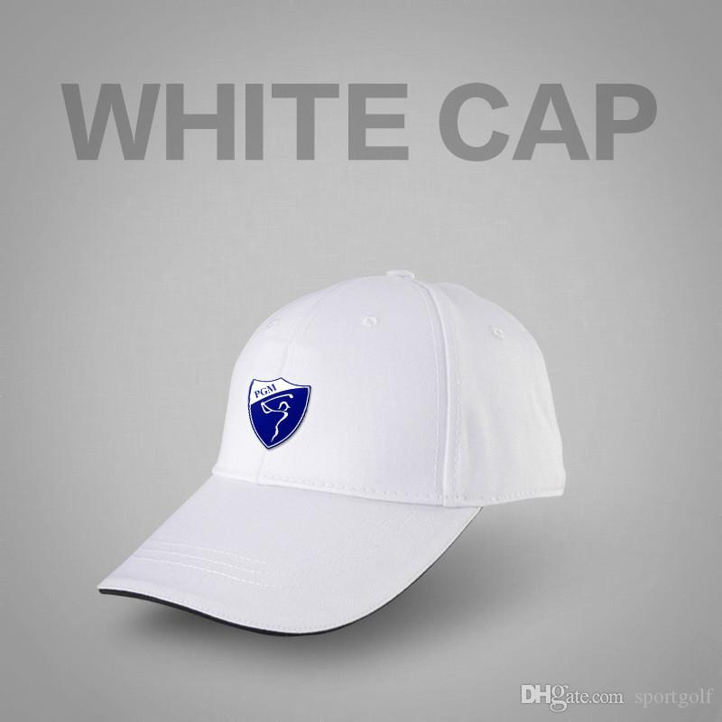 95a64d88892 2019 2018 PGM Golf Cap Outdoor Quick Perspiration Comfortable Breathable Cap  Sport Sunshade Hat Average Size Unisex From Sportgolf