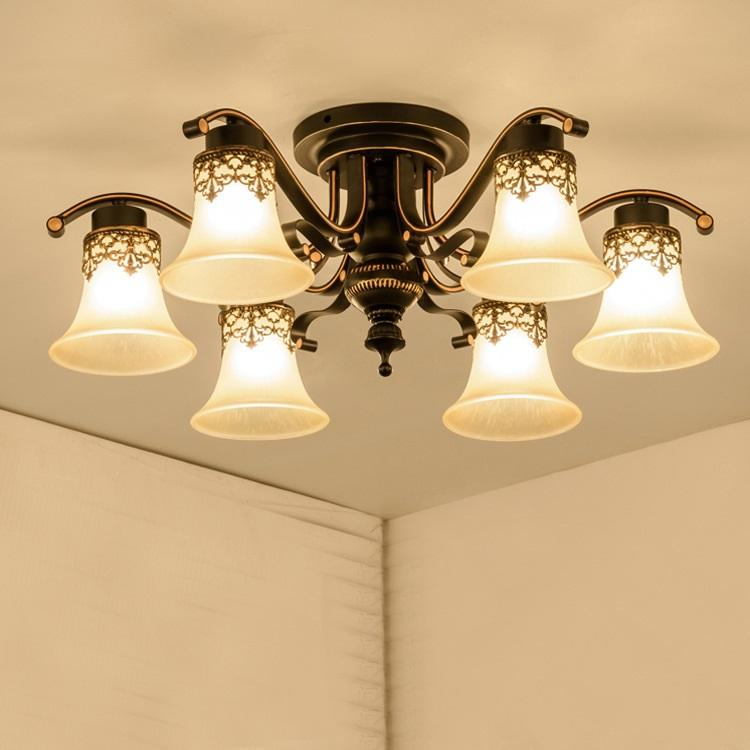 LED bedroom ceiling lights living room ceiling lighting Modern home  fixtures American country illumination loft lamps