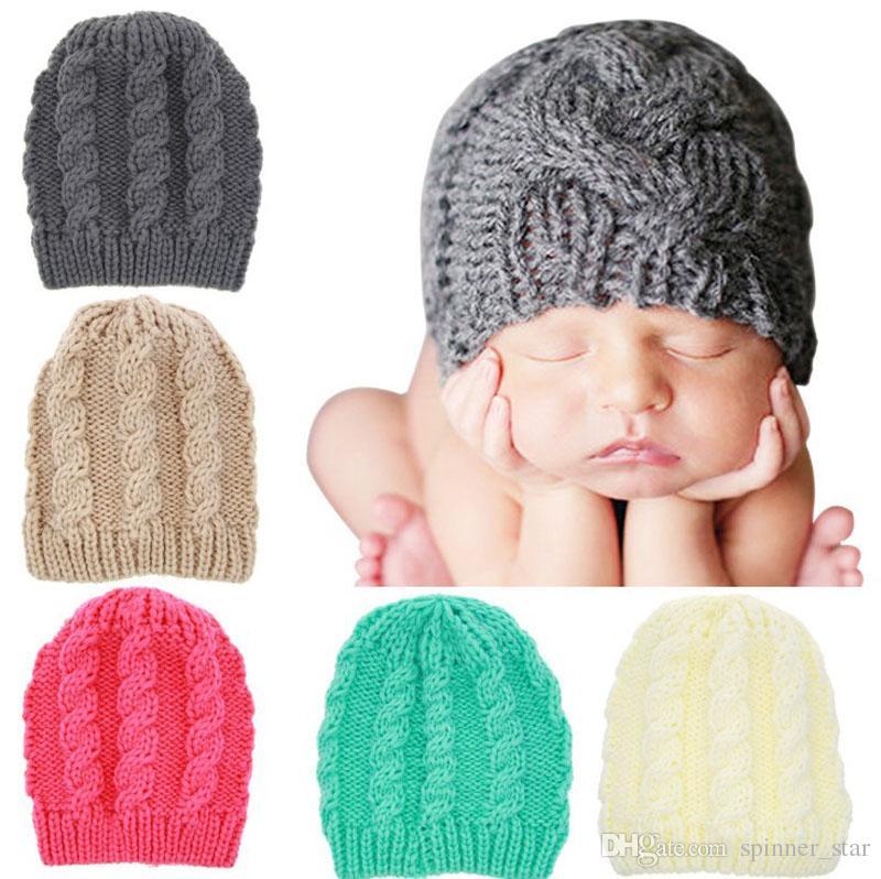 Compre Térmica Chapéu De Malha Pure Color Algodão Cap Infantil Ornamentos 5  Cor Chapéu Quente No Outono E Inverno Crianças Cap De Spinner star e9d4f16c245