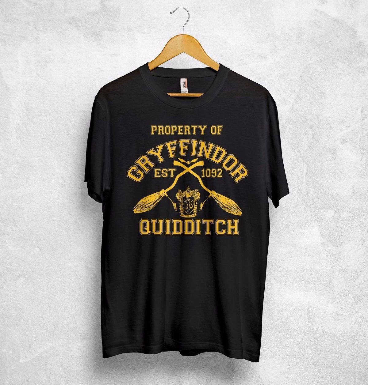 110951a849d5 HARRY POTTER Boys Gryfindor Quidditch T-Shirt Clothing