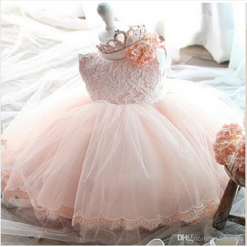 42ff2421b Compre Vintage Baby Girl Dress Bautismo Vestidos Para Niñas 1er Año Fiesta  De Cumpleaños Boda Bautizo Bebé Infantil Ropa Bebes A  17.09 Del Indusrain  ...