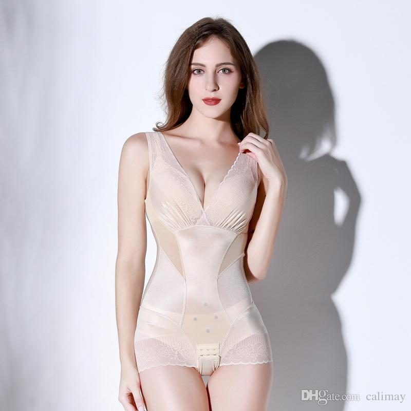e086a466c3 2019 Wholesales High Quality Women Body Sculpting Slimming Bra Lift Hot  Shapewear Magic Sexy Body Shaper Waist Tummy Trimmer Corset Bodysuits From  ...