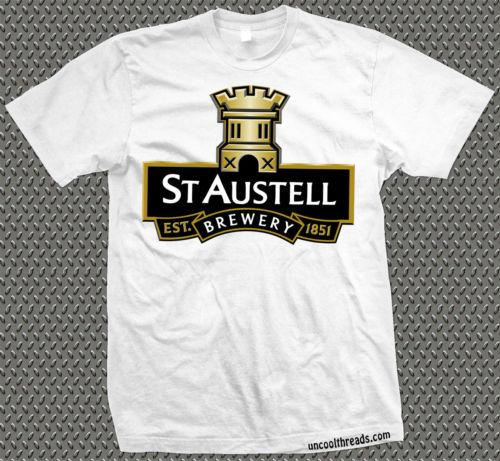 332d316638f St Austel Brewery Brewing Company Beer T Shirt Ascot Cornwall Cool Casual  Pride T Shirt Men Unisex New Fashion Comedy T Shirt Humorous T Shirt From  ...