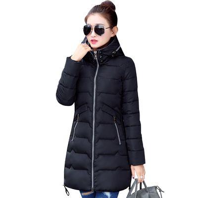 0724942b904 2018 Women Winter Hooded Warm Coat Slim Plus Size Candy Color Cotton ...
