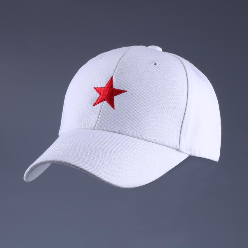 0bac900be026c Vintage Red Star Army Hat Adjustable Size Embroidered Floral Baseball Cap  White Breathable Cotton Plain Dad Hat Summer Gorras Lids Hats Visors From  Gocan