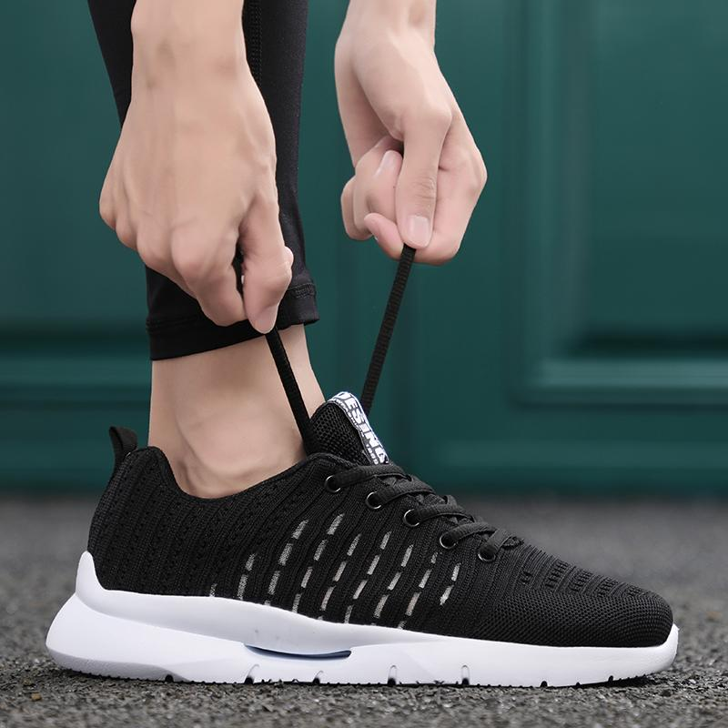 a07ec95e5 2019 Men Sneakers Running Shoes Lightweight Sneaker Breathable Mesh Sports  Shoes Jogging Footwear Walking Athletics From Mangosteeng, $31.43 |  DHgate.Com