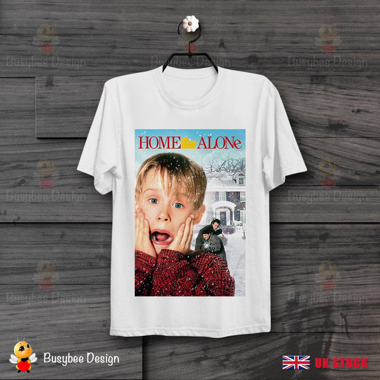 a45011259 HOME ALONE MOVIE POSTER COOL FUNNY VINTAGE UNISEX T Shirt B261 Funny Unisex  Casual Tee Gift Awesome Tee Shirts Teet Shirts From Noveltgifts, $12.96   DHgate.