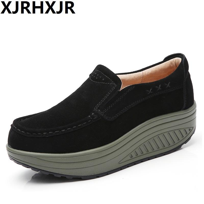 994aed29c7a1 2017 Summer Shoes Women Causal Sport Fashion Walking Flats Height ...
