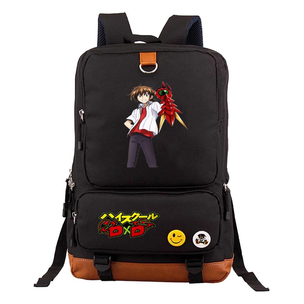 fe49be9c20cf Anime High School DxD Backpack Men Women Laptop Rucksacks Girl Boy Student  School Book Bag Teenagers Travel Bags 6 Style Swiss Gear Backpack Osprey ...
