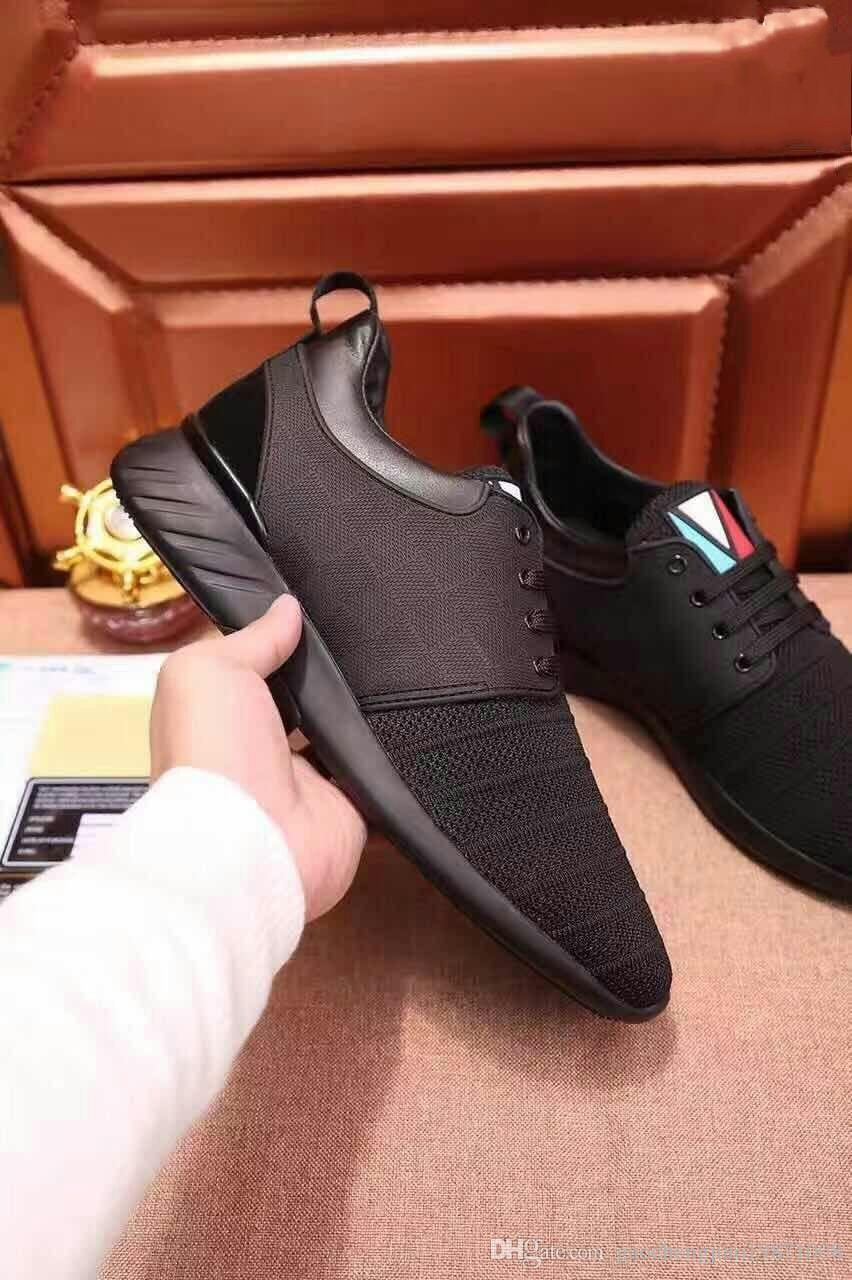 2018 Cheap Mens Dress Shoes Designer Loafers Mens Shoes Men Luxury Shoes  Cloth And Leather Intertwined Fashion Leisure Men Preferred 01 Tennis Shoes  Oxford ...