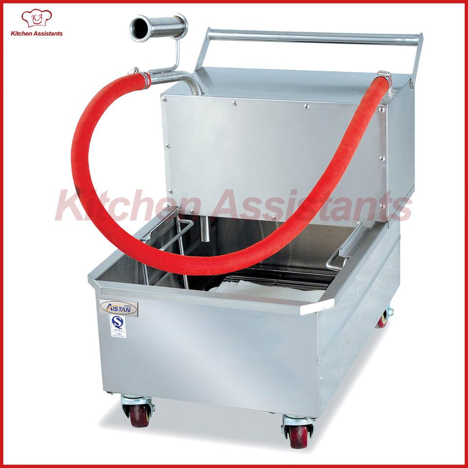 LU400 oil filter cart tool for oil recycle using of catering equipment