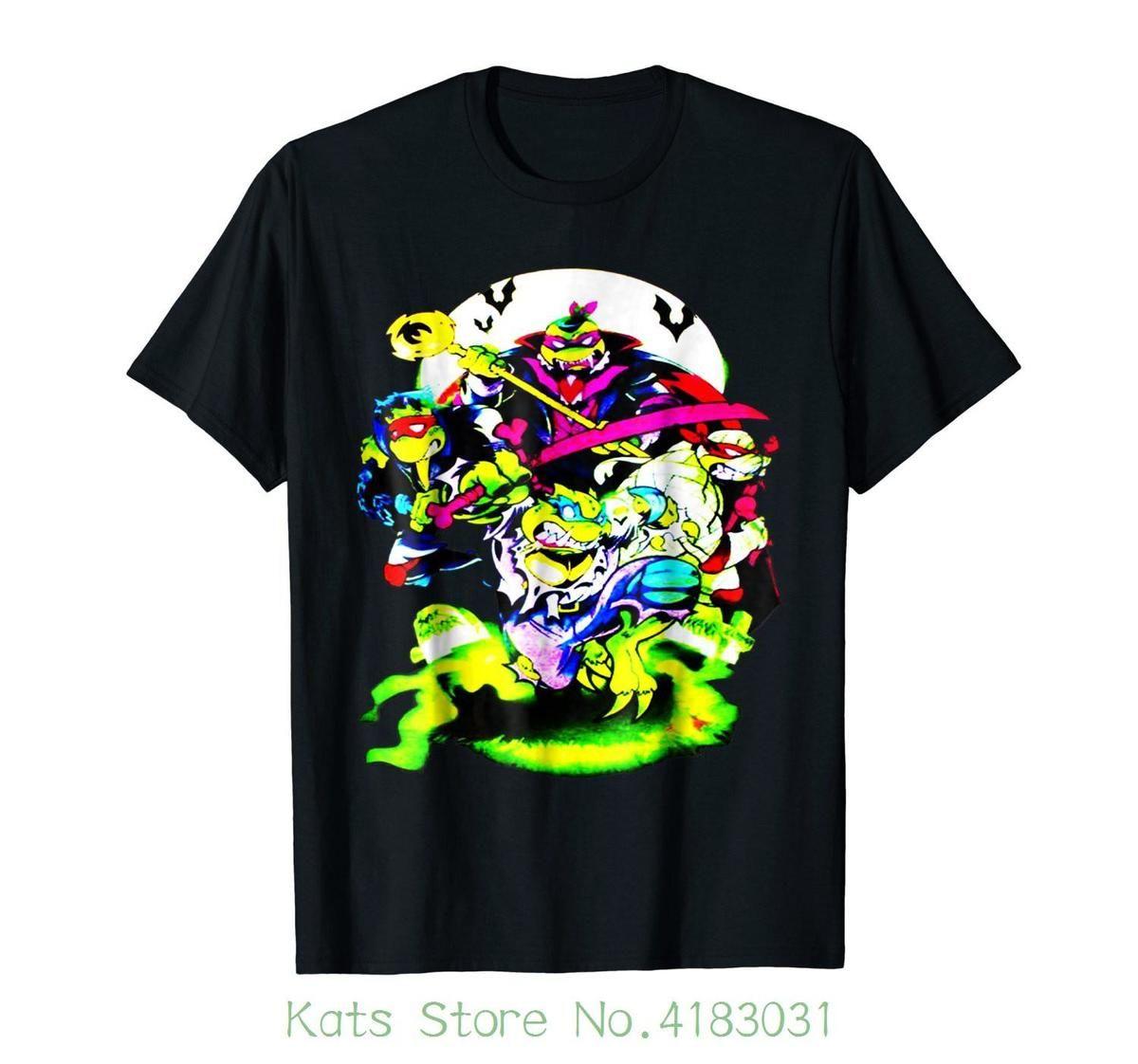 b5181c95 Shell Raisers Retro 80s Cartoon Turtles Funny T Shirt Summer Fashion Funny  T Shirts For Guys Fashion T Shirts From Pxue3209, $12.79  DHgate.Com