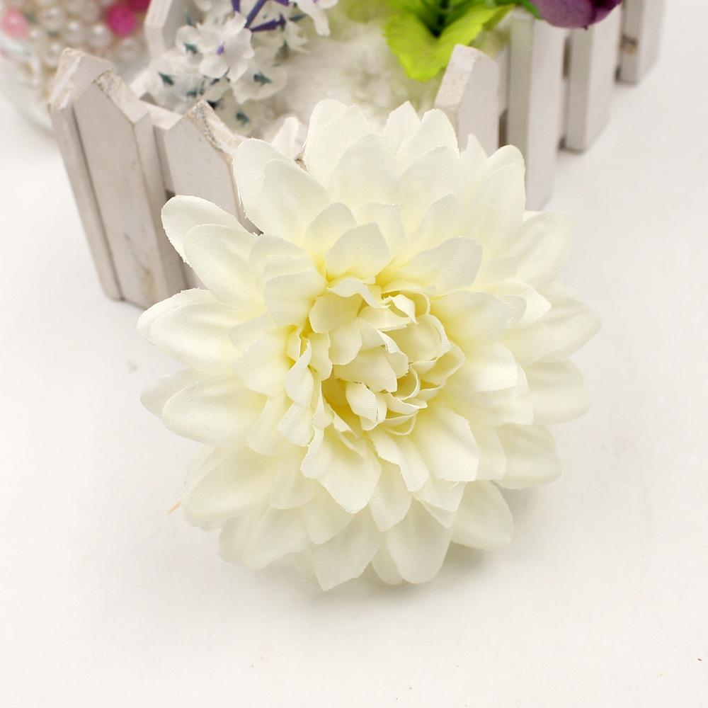 High Quality Silk Artificial Flower Dahua Corsage Flower Head ...