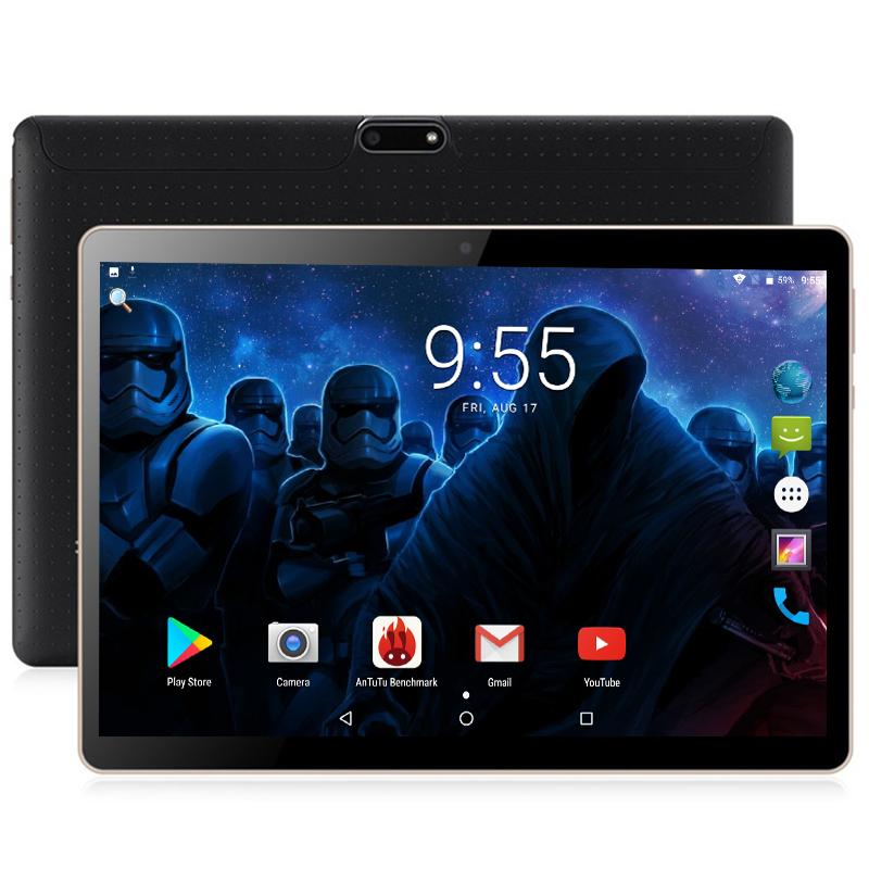 c30b223cc864a Compre Envío Gratis Android Tablet 10 Pulgadas Desbloqueo 4G 3G Llamada De Teléfono  Tarjeta SIM Android 7.0 Octa Core WiFi FM 4GB 32GB 1280   800 Tablet PC ...