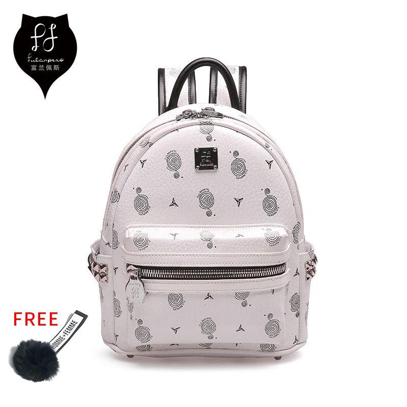 82d5b85e08 FULANPERS Mini Backpack Female School Bags Small Backpack For Teenage Girls  2018 Fashion Women Backpack Bags Ladies White Black Y18110201 Daypack  Swissgear ...