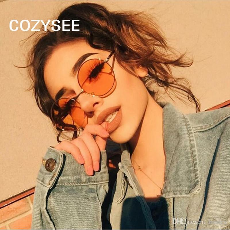 Nerd Vintage Round Sun Glasses Men Women Metal Frame With Red Lens  Transparent Harry Potter Sunglasses Retro Female Shade UV400 Foster Grant  Sunglasses ... 9e664f5fce