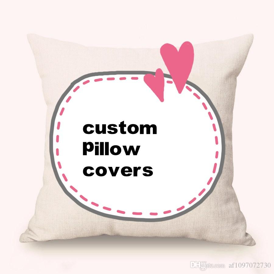 Custom Pillow Covers Purchased In Bulk New Jacquard Yarn Dyed Cotton And  Line Car Waist Pillow Cases Any Size Sofa Cushion Covers Outdoor  Replacement ...