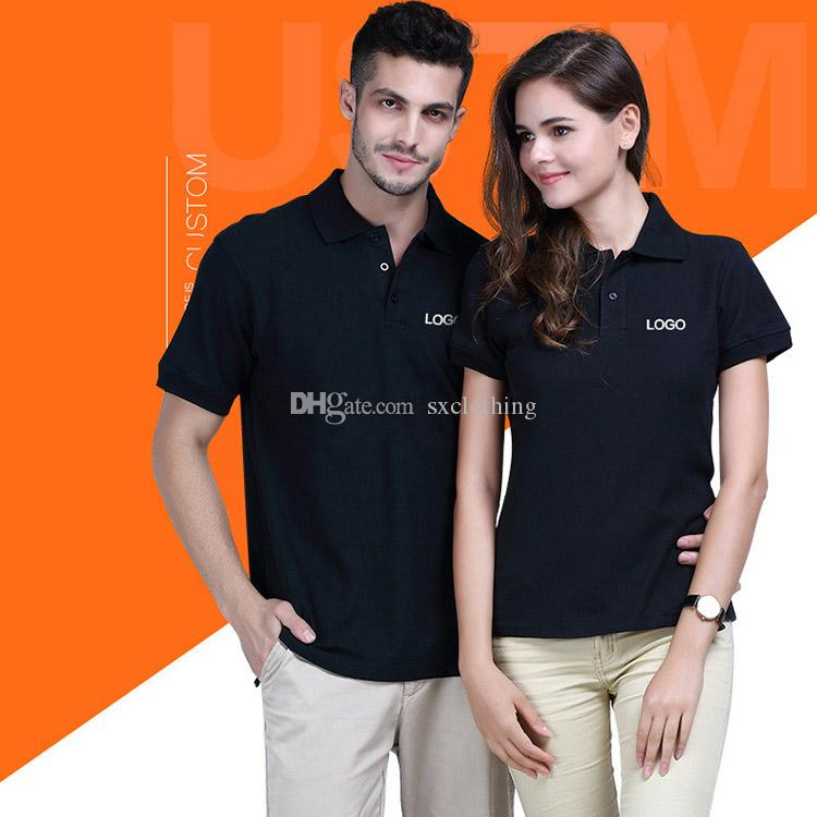 c5401bff306 2019 Custom Mens Polo Shirt From Sxclothing