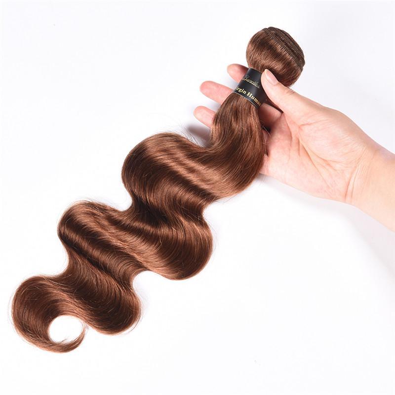 9A Brasilianisches Reines Menschenhaar Bundles Mit Freies Teil Verschluss farbe 27 # 30 # 99j Brasilianische Körperwelle Reine Haarbündel Mit Spitze verschluss