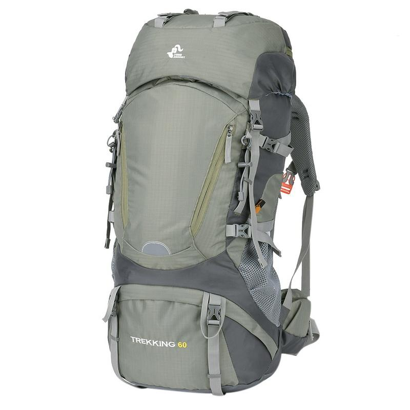 a71ec58bbd New 60L Women Men Waterproof Backpack Outdoor Sport Backpack For  Mountaineering Hiking Camping Tourist Rucksack With Rain Cover Rolling Backpacks  Backpacks ...