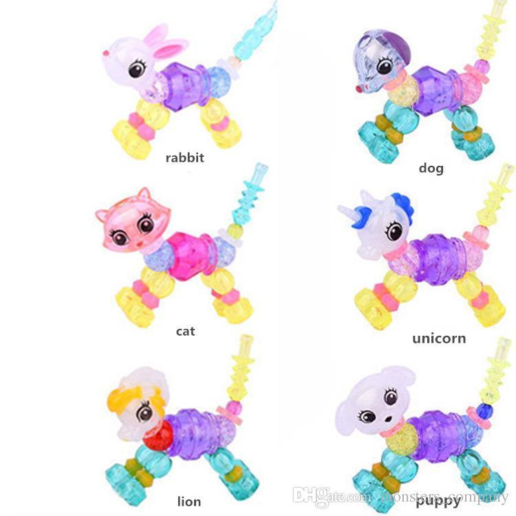 Großhandel 6 Arten Twisty Petz Diy Mädchen Armbänder Spielzeug ...