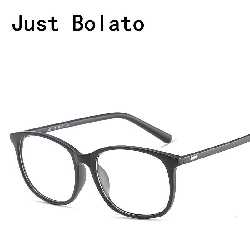 2018 New Eyeglasses Frames Men Eyeglasses Black Frame With Clear ...