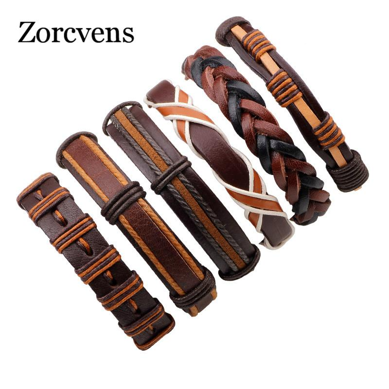 YOBEST Vintage Leather Bracelets For Women Punk Bible Leather Bracelet & Bangle Male Wristband Wrap Men Jewelry