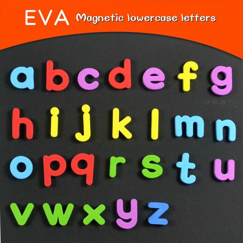 Großhandel 26 Stücke Eva Buchstaben Kühlschrankmagnete