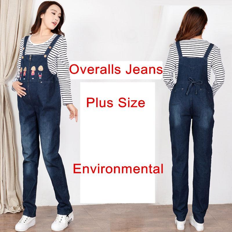 923168d26 Compre Jeans De Maternidad De Mezclilla Overoles Mono De Algodón Ropa De  Maternidad Casual Para FPregnant Mujeres Moms Pantalones De Premama  Pantalón Más ...