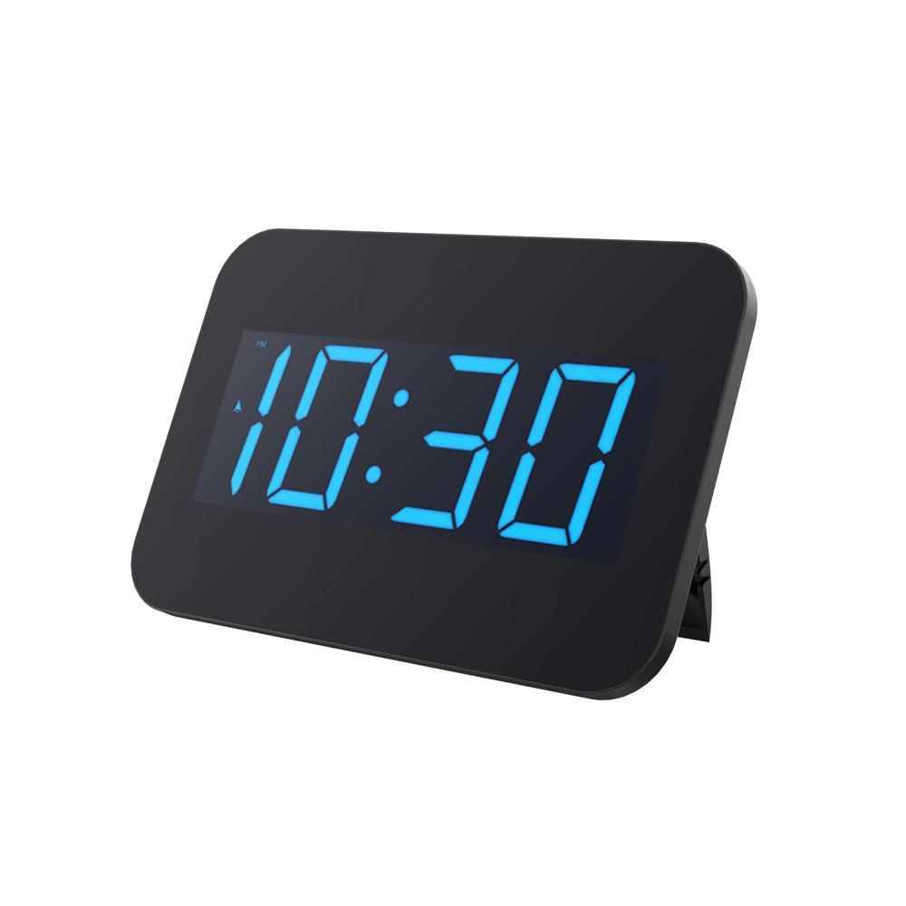 Computer & Office Blue Backlight Digital Alarm Clock Electronic Desktop Clock Table Led Clock Watch Snooze Reloj