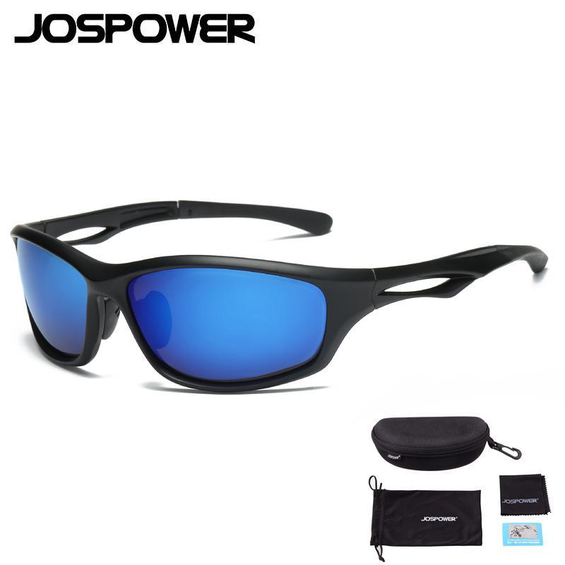 3d91cf9d9e JOSPOWER Polarized UV400 Cycling Glasses Eyewear Bicycle Riding ...