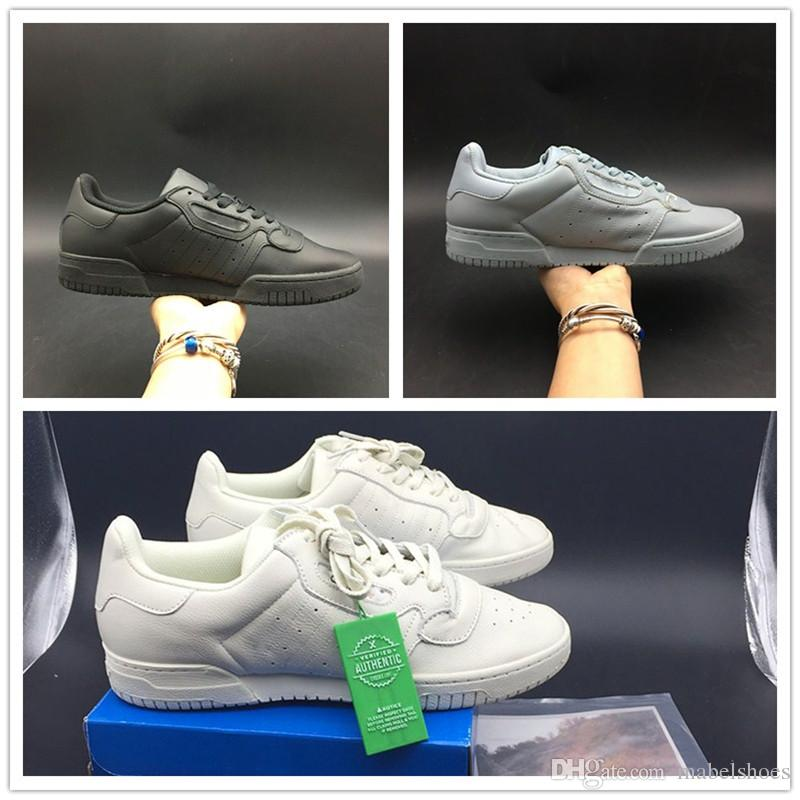 0d2471663e9 Newest Powerphase Grey Core Black White CG Mens Running Shoe Fashion Look  Upper Quality Women Casual Shoes With Box Shoe Sale Shoes Uk From  Mabelshoes