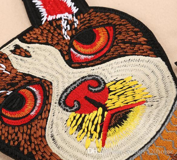 DOG embroidered patches for clothing on clothes iron on patches patch applique cute stickers for clothes