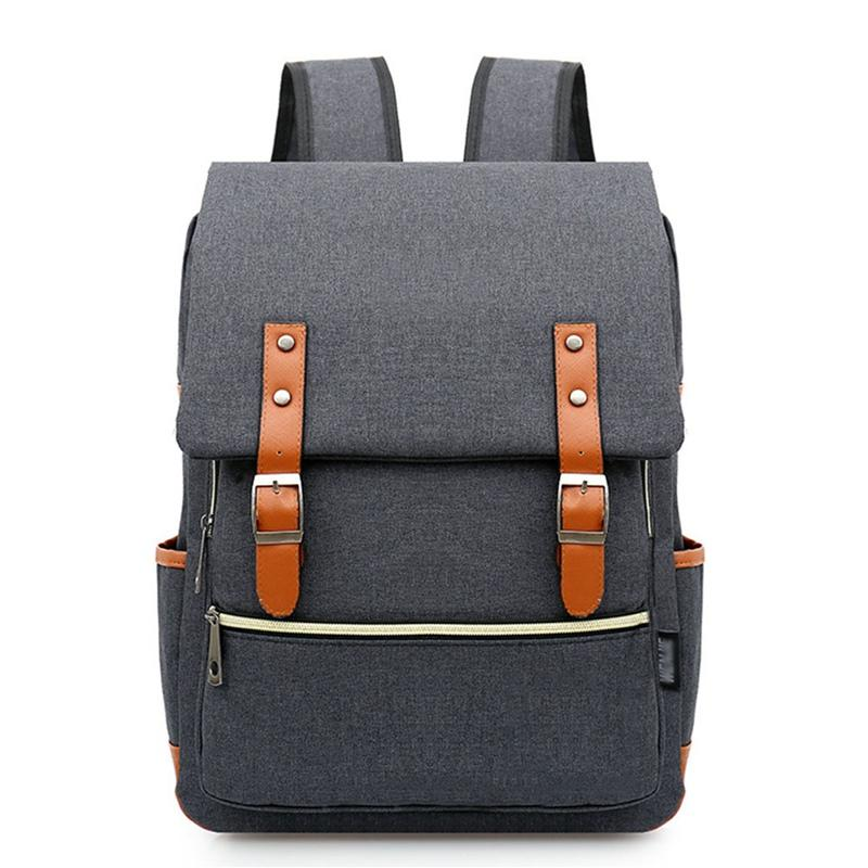 2cdb44df24 Fashion Vintage Laptop Backpack Women Canvas Bags Men Oxford Travel Leisure  Backpacks Retro Casual Bag School Bags For Teenager Backpack With Wheels  Dakine ...