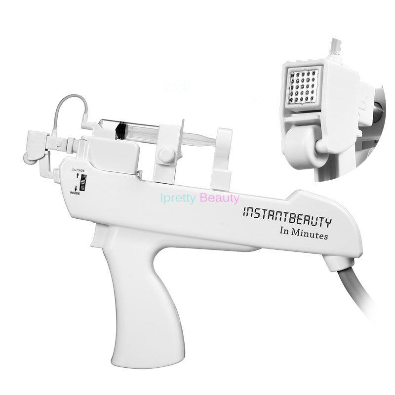 Pistola Meso pistola mesoterapia in acciaio al vanadio e titanio con 25 pin nano anti-età e sbiancamento della pelle la cura della pelle