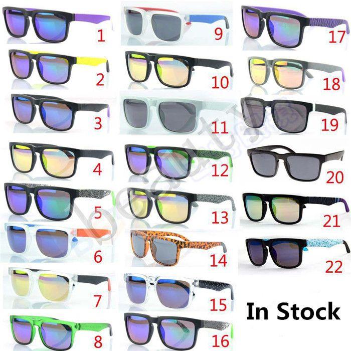 333e060916 New Designer KEN BLOCK HELM Colorful Reflective Coating Sunglasses ...