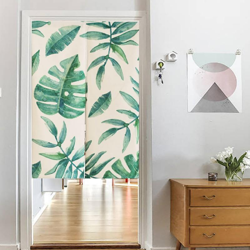 2018 cartoon cactus curtains for living room door curtains for