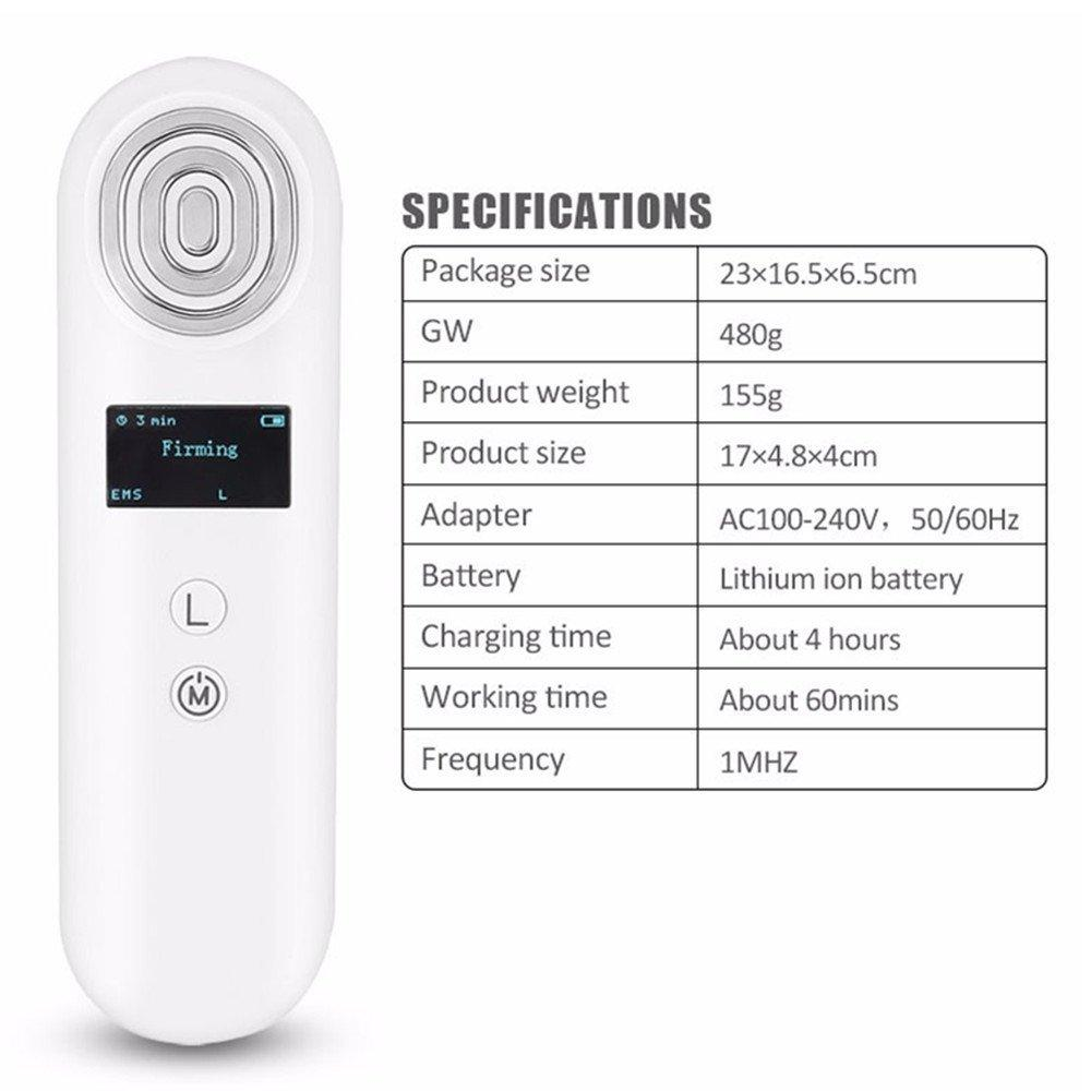 Tamax 2018 New RF Radio Frequency Wrinkles Removal Machine EMS Vibration Facial Lifting Device Face Massage beauty device home use