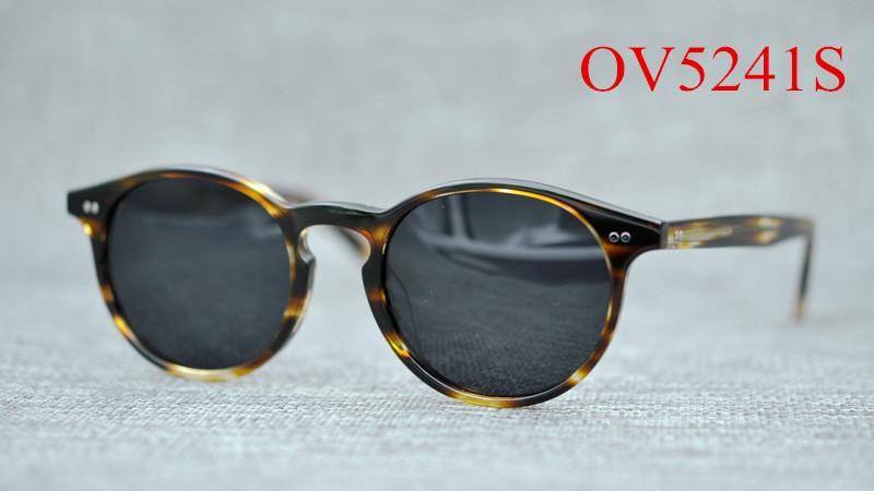 d8c44a39ef OV5241S Fashion Round Frame Eyeglasses Women Retro Polarized Uv400 ...