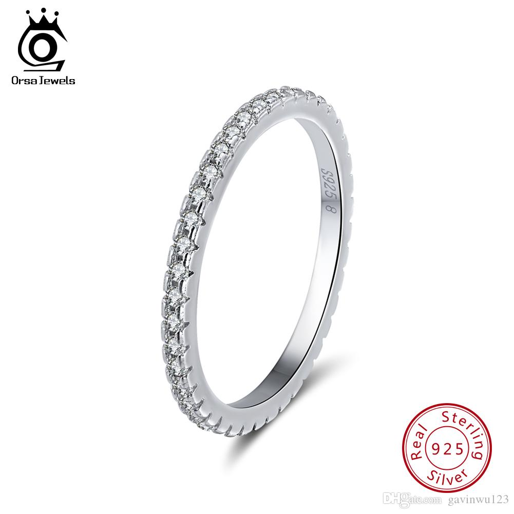 925 Sterling Silver Fashion Hommes Femmes Mariage Zircon rondes vintage ring Taille 5-10
