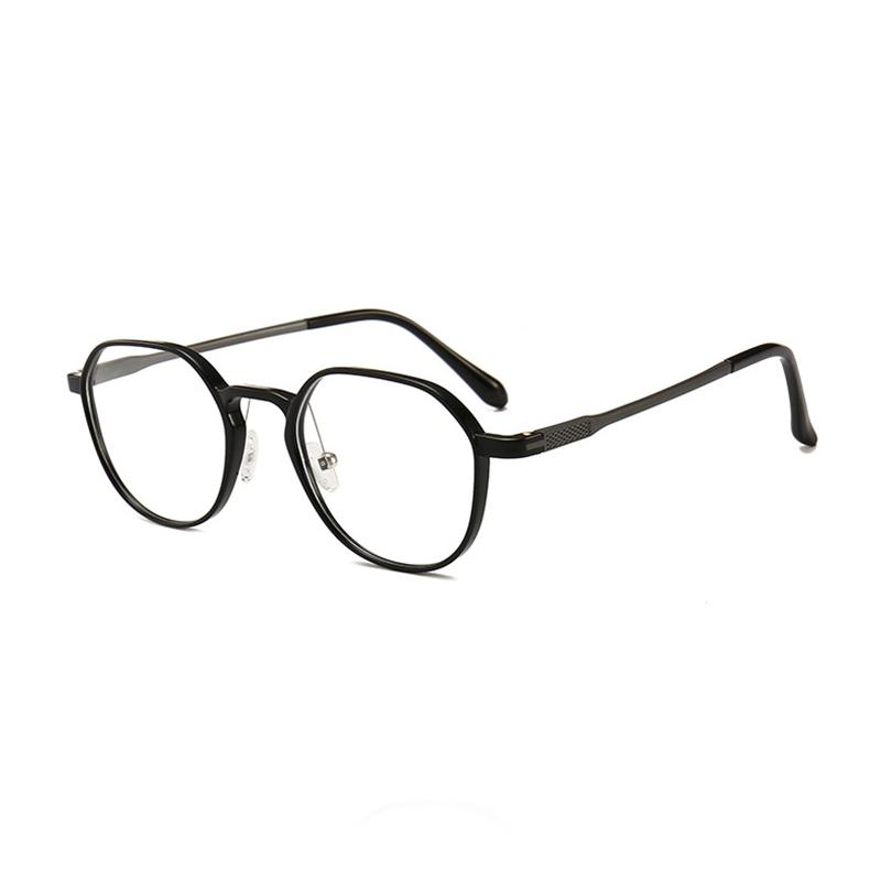 025793001633 Mincl/Fashion Plastic Steel Glasses Frame Men And Women Personality ...