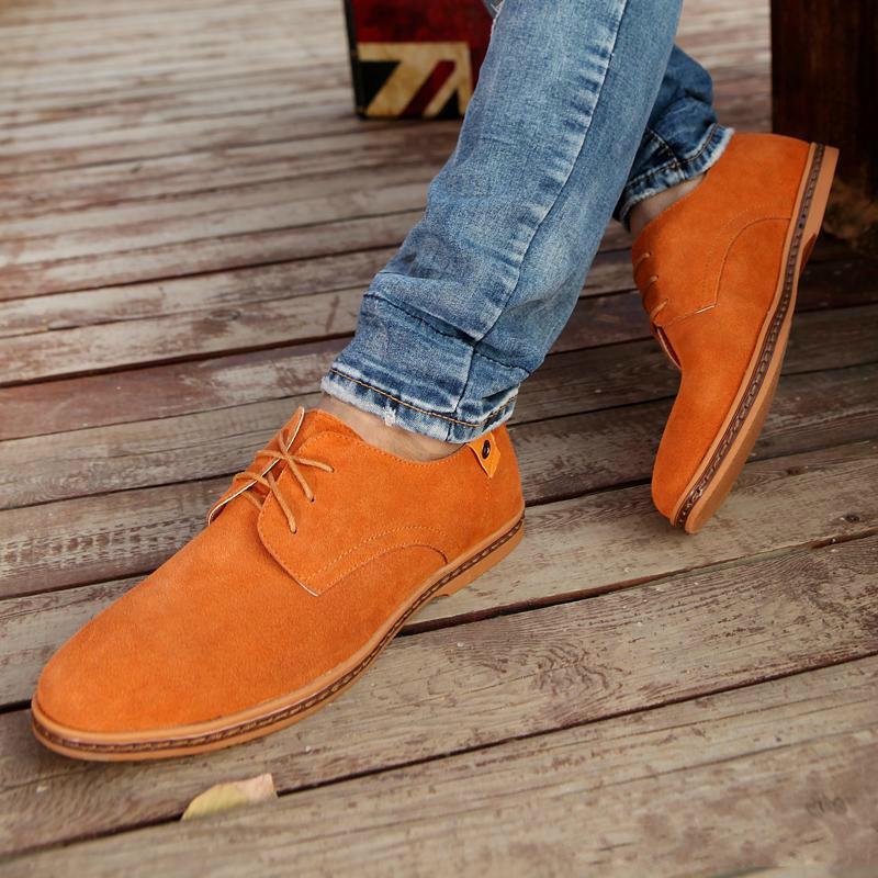 Herenschoenen Élégant Chaussures Hommes Oxfords Chaussures Habillées En Cuir Véritable Vache En Daim Plus La Taille Derby De Bal Formelle Chaussures