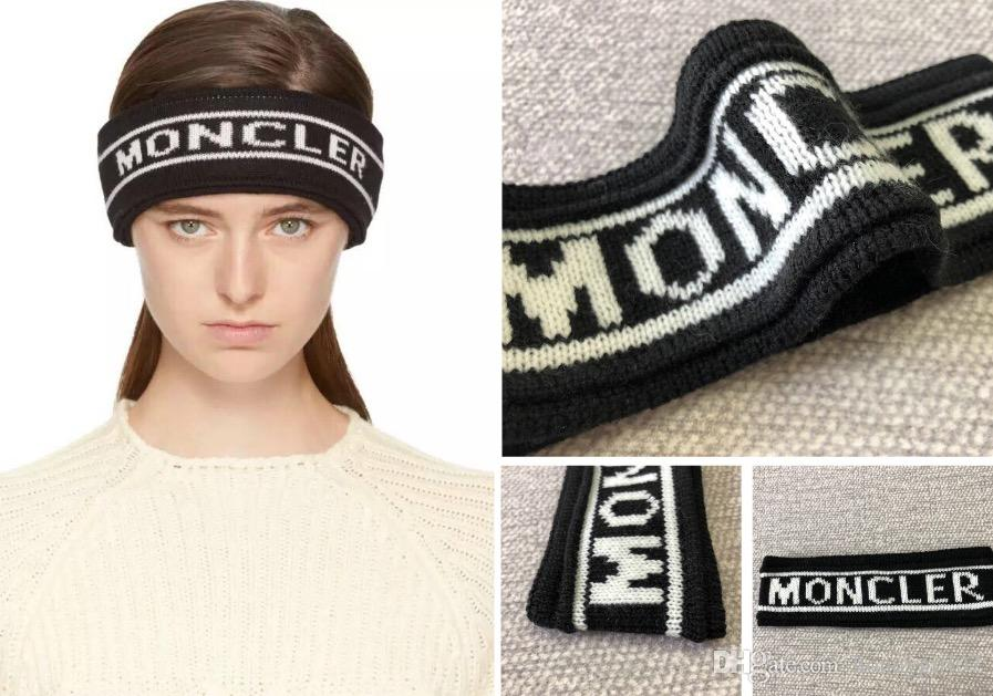Mon Headband Hot Men And Women Headbands Famous Design Scarf Luxury Brand  Hair Bands Wool New Style For Best Gift Free Headband With Flowers White  Flower ... a8392cc2848
