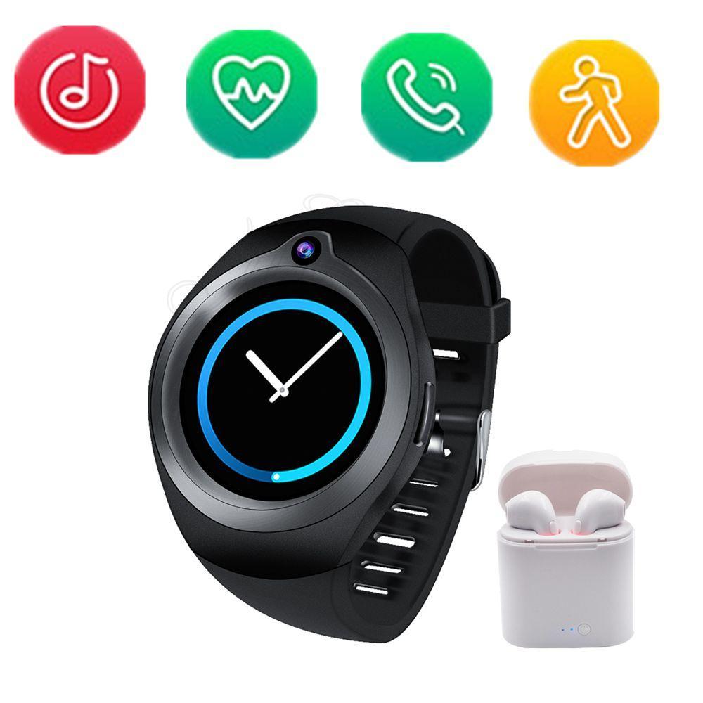 Compatible Con Portátil Pk Para Wifi 1 Smartwatch G3 Inteligente Relogios 5 S3 Android Gps Reproductor S99c Reloj De Frecuencia Cardíaca Fc3lTK1J