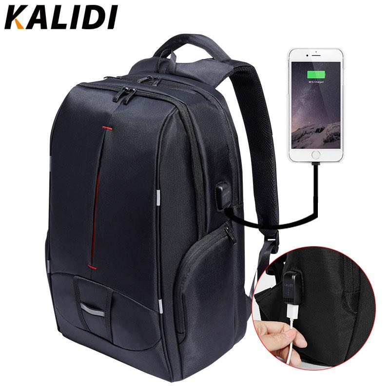 KALIDI 17 Inch Waterproof Men Backpack USB Charger College Students Bag  Laptop NotBackpack For 15 To 17.3 Inch School Bag Water Backpack Mesh  Backpack From ... 714e4badca521