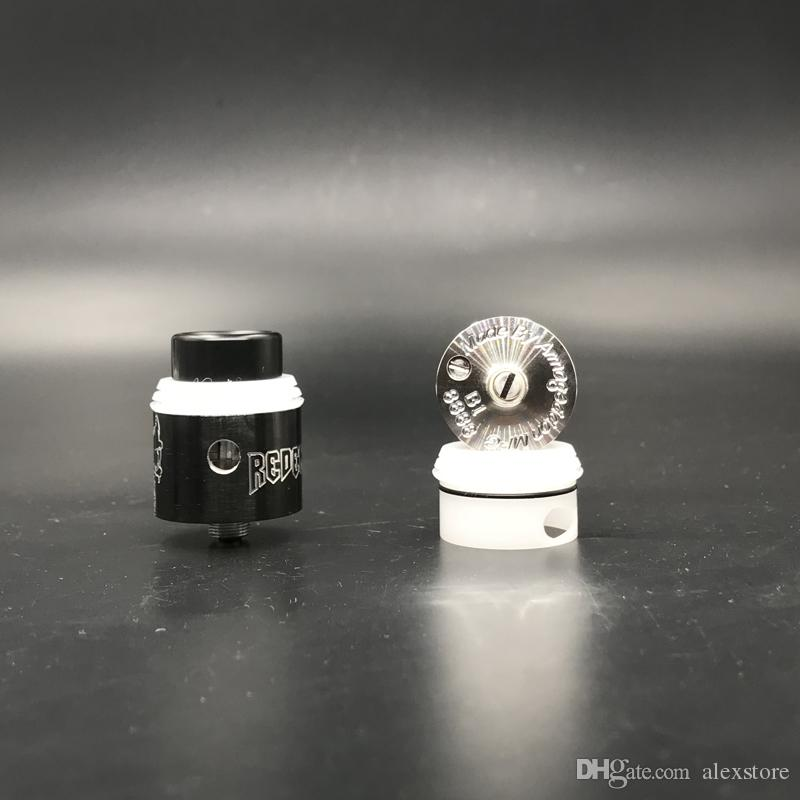 Redemption RDA Clone Replaceable Dripping Atomizers 24mm RDAS Apocalypse Rapture style posts Removeable negative post Serialized deck DHL