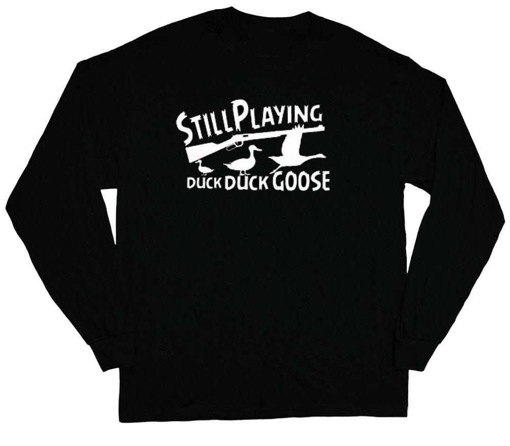 bf0c05cf427e8 Long Sleeve T Shirt For Men Funny Duck Hunting Shirt Ducks Hunter Redneck  Tee Super Cool T Shirts And T Shirts From Banwanyue2, $15.74| DHgate.Com
