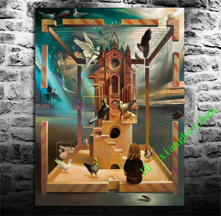 Großhandel Vladimir Kush 3, Home Decor Hd Gedruckt Moderne Kunst ...