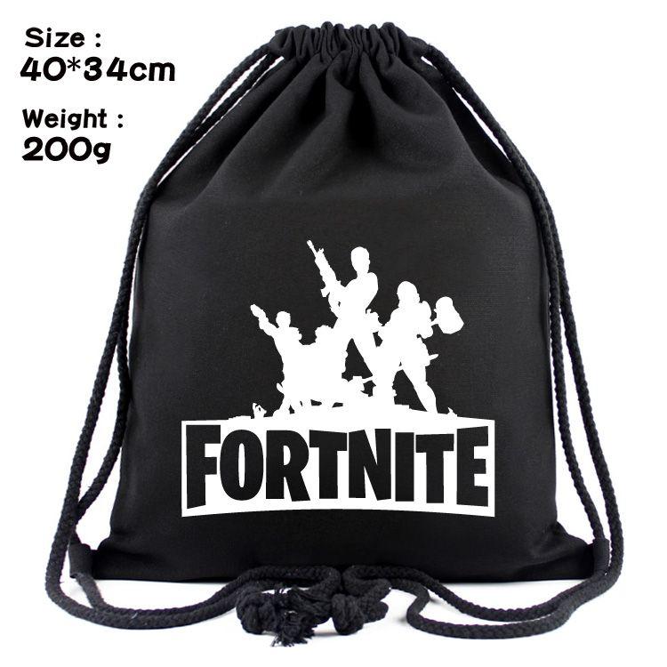 Unisex Fortnite Battle Royale Drawstring Bags Black Canvas Supply Llama  Draw String Bag Shoulder Bag Backpack UK 2019 From Arrownet ae543b6e59
